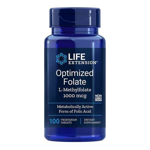 optimized folate 1000mcg 100 tablet
